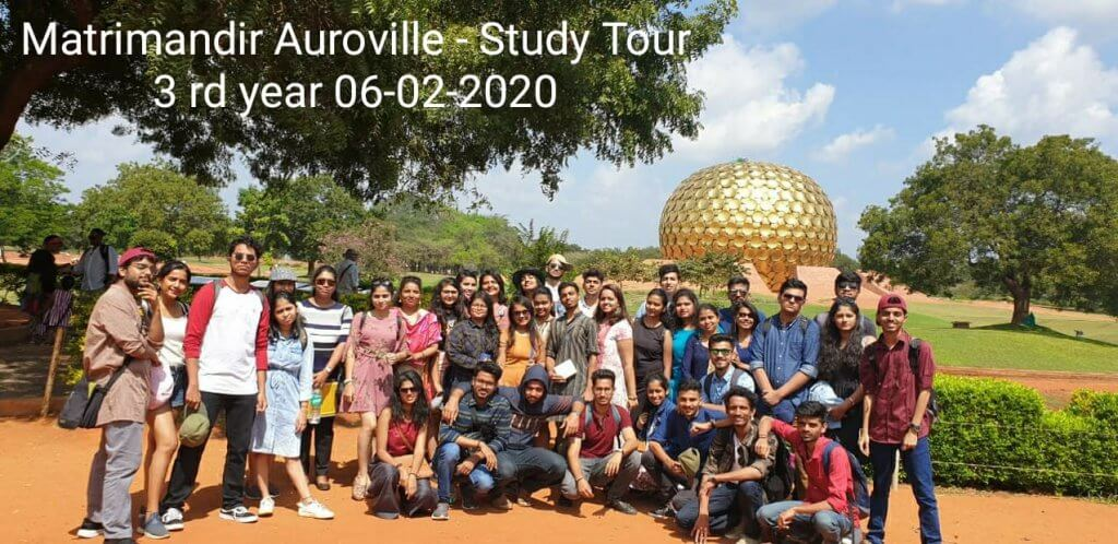 Matrimandir Aurville -Study Tour