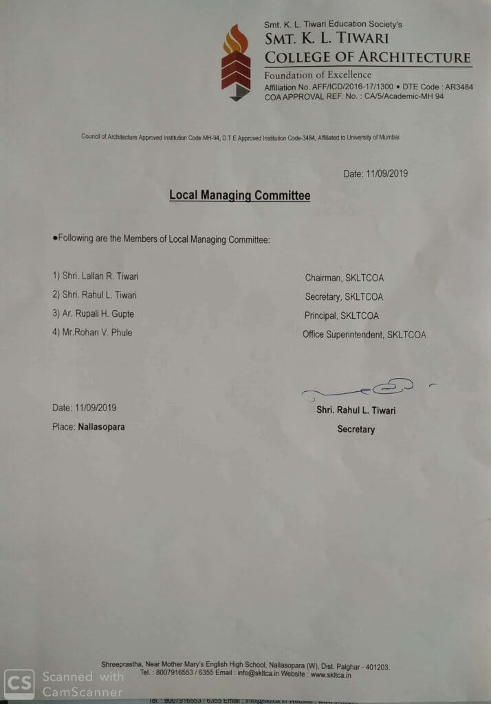 Local Managing Committee